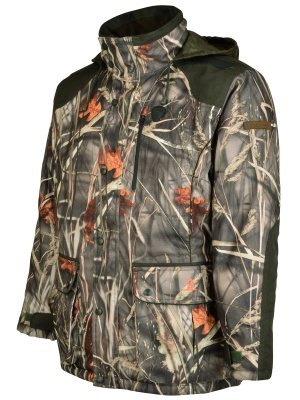 Percussion Brocard Hunting Jacket Ghost Camo