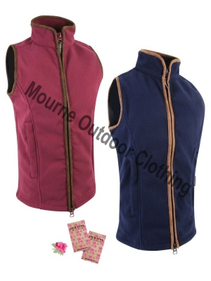 Ladies Jack Pyke Countryman Fleece Gilet