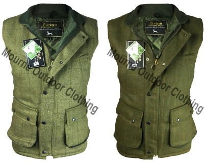 Mens Tweed Gilet