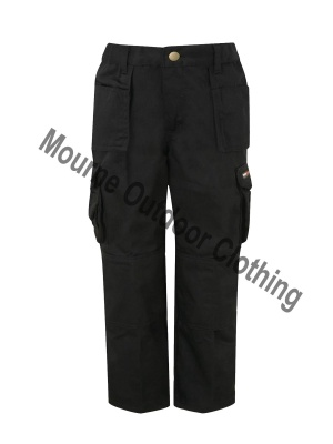 Kids Tuff Stuff Work Trouser Black