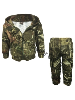 Kids Realtree Camouflage Hunting Suit