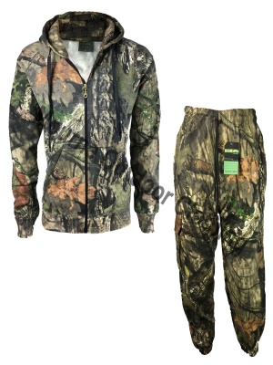 Realtree Camouflage Hunting Zip Suit
