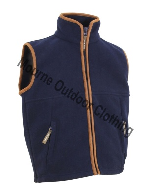 Kids Jack Pyke Countryman Fleece Gilet Navy