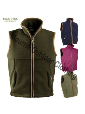 Kids Jack Pyke Countryman Fleece Gilet