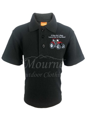 Kids Case Tractor Polo Shirt
