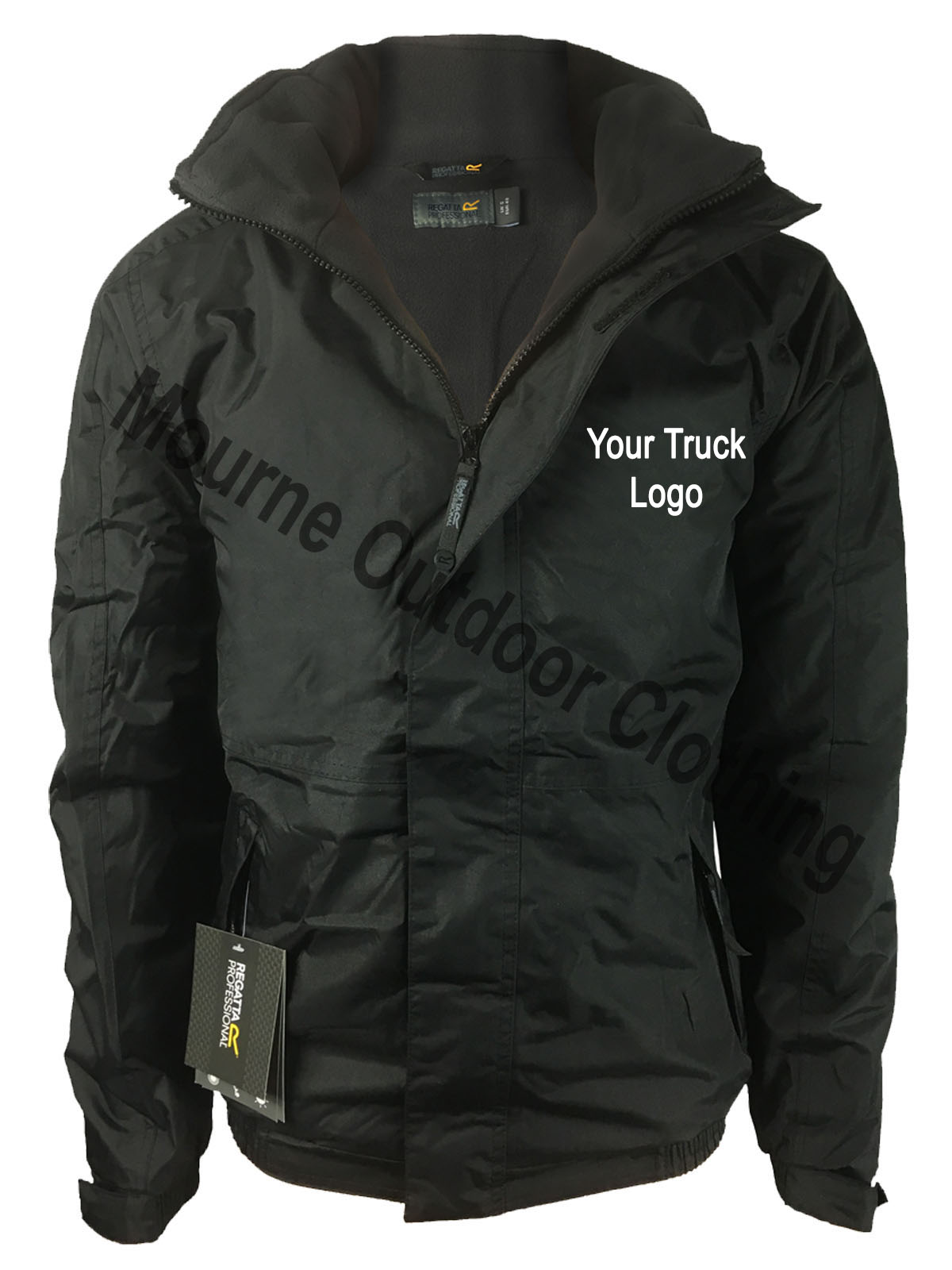 Regatta Custom Truck Waterproof Jacket Black