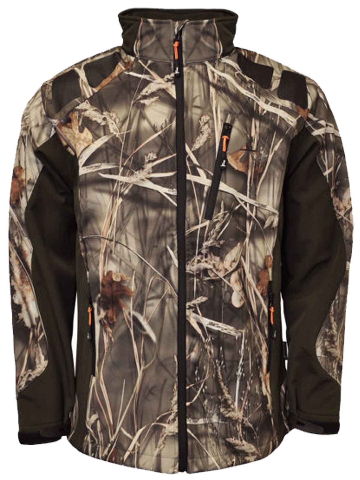 Percussion Softshell Hunting Jacket Ghost Camo