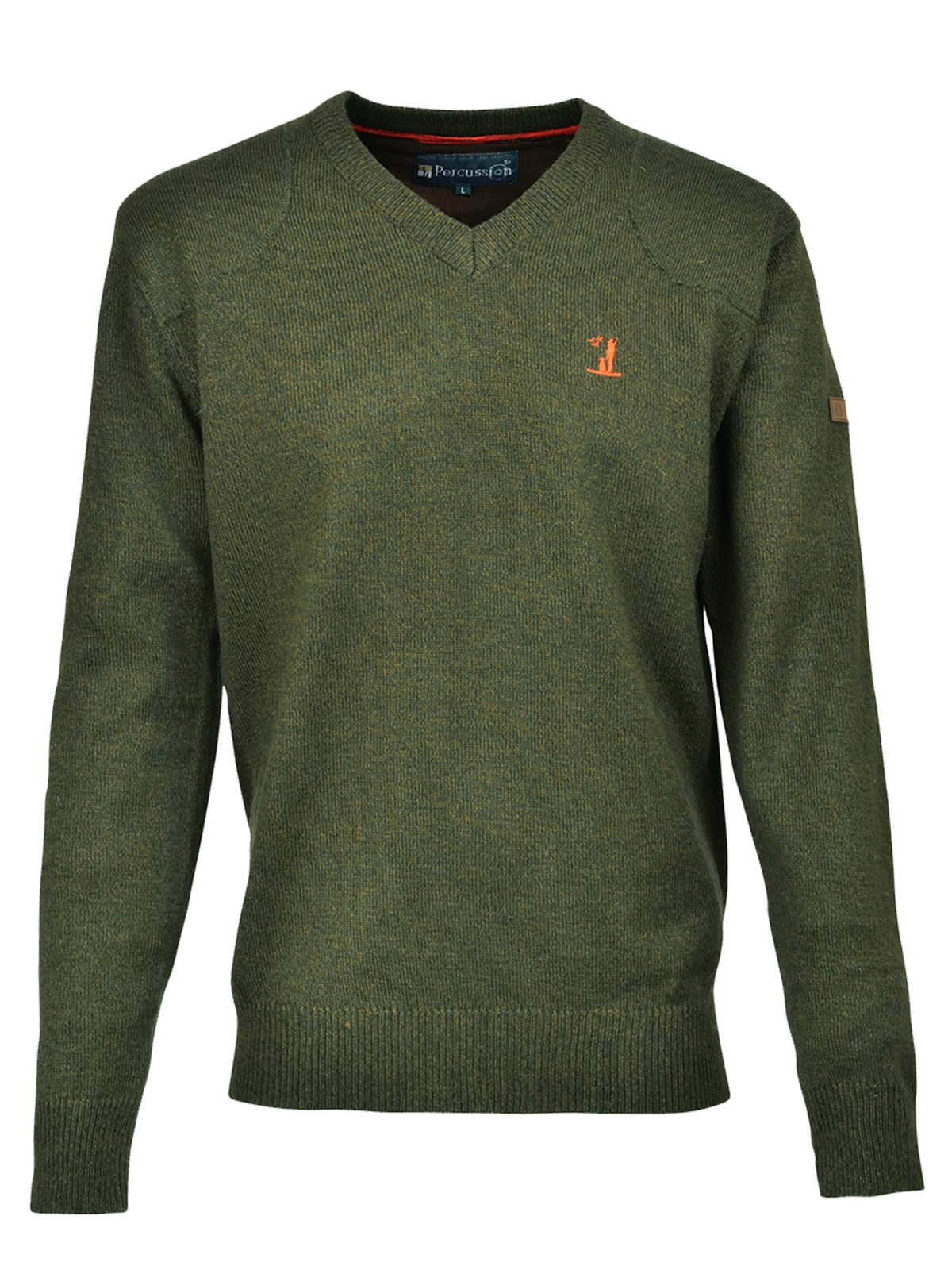 Percussion V Neck Jumper