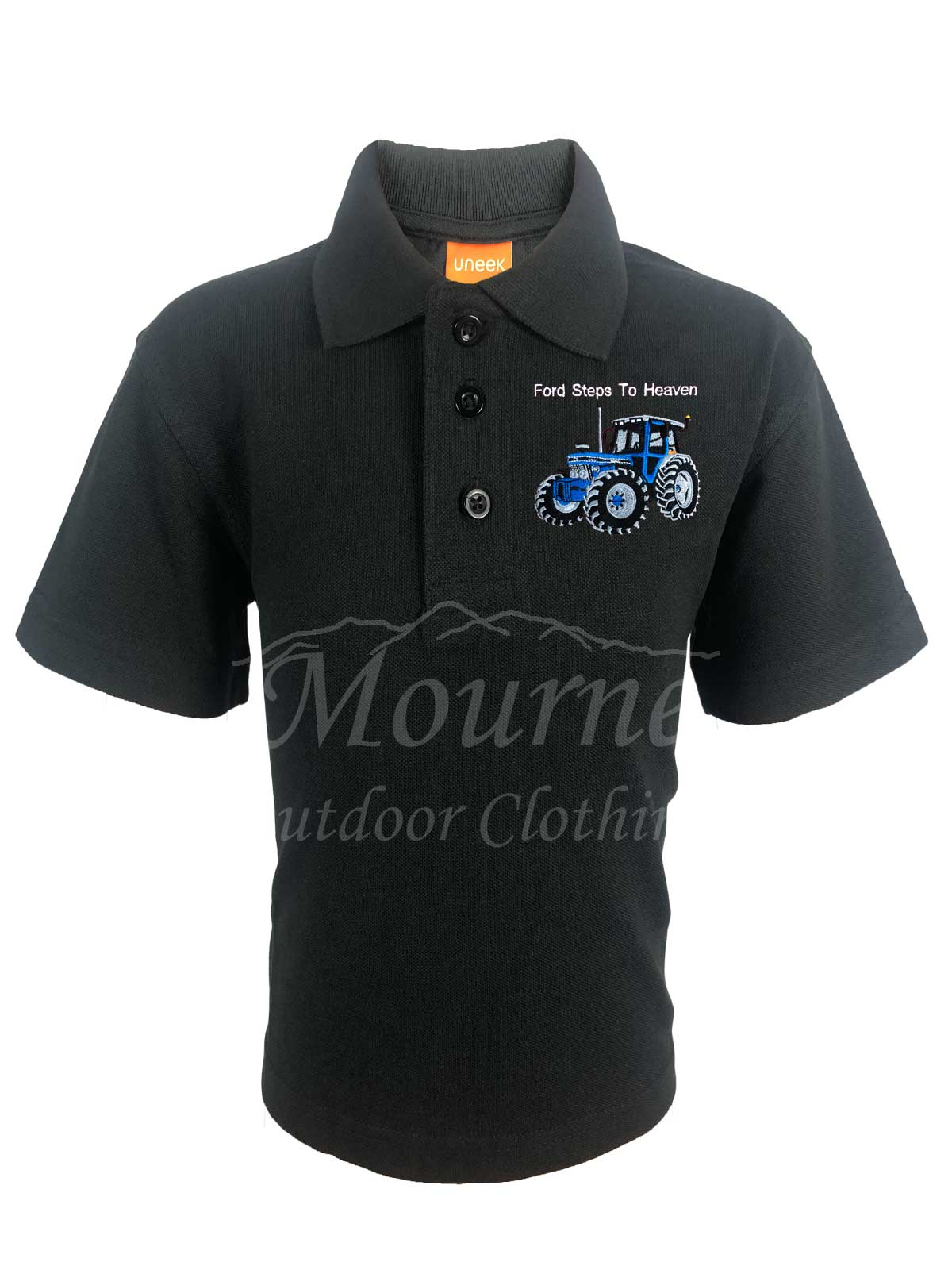 Kids Ford Tractor Polo Shirt