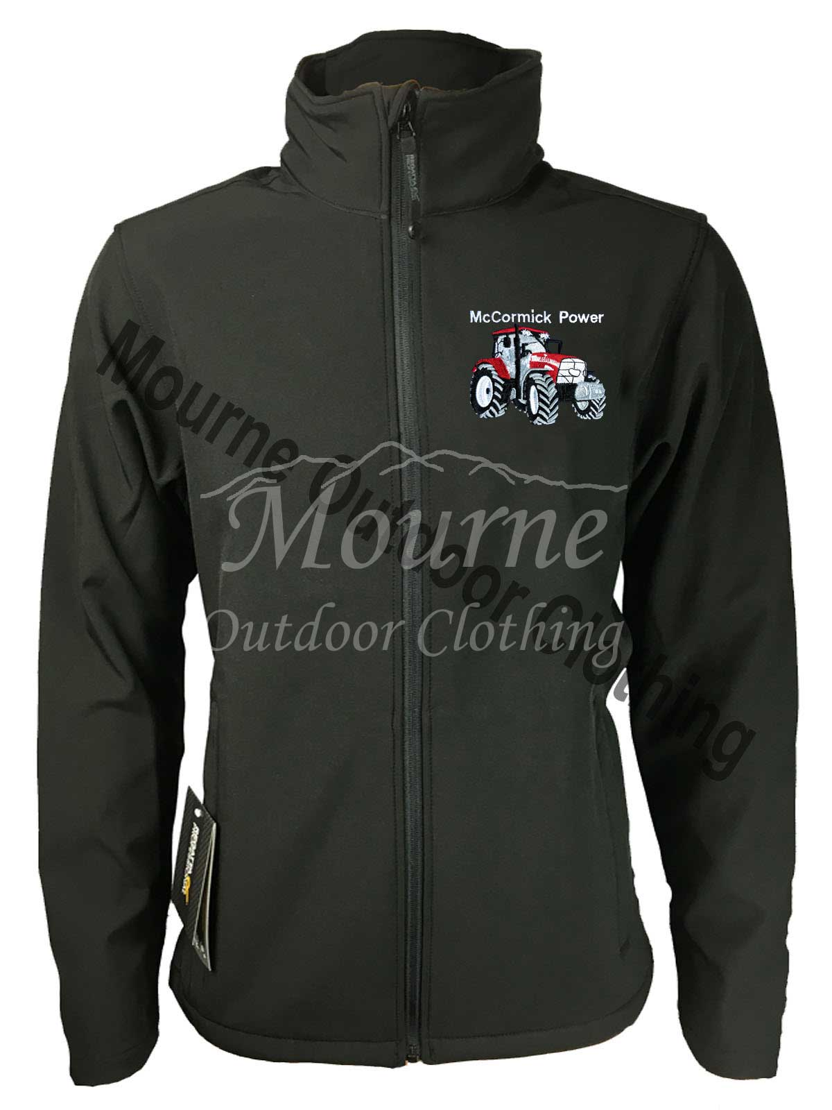 Regatta McCormick Tractor Softshell Jacket Black