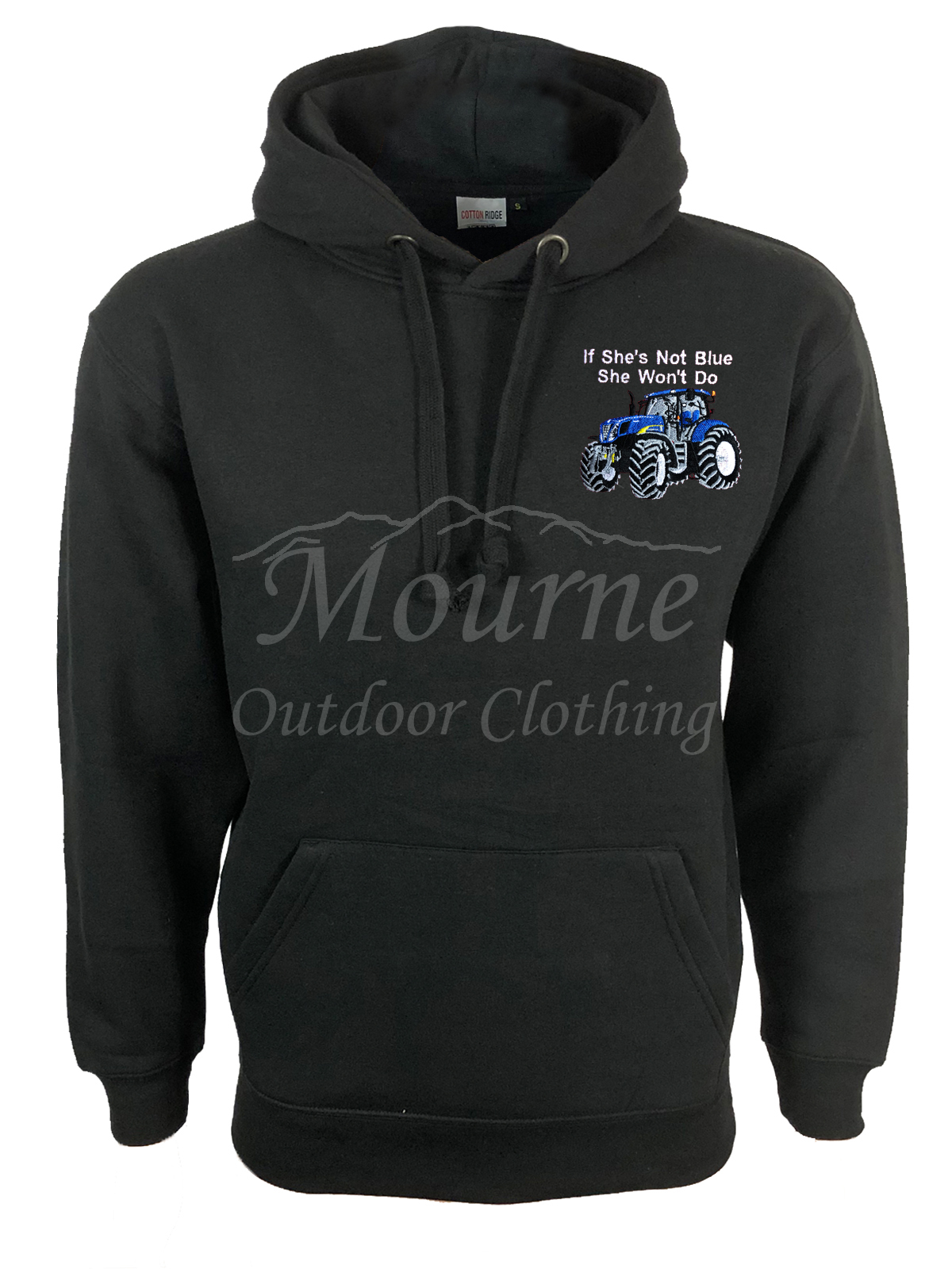 New Holland Tractor Hoodie