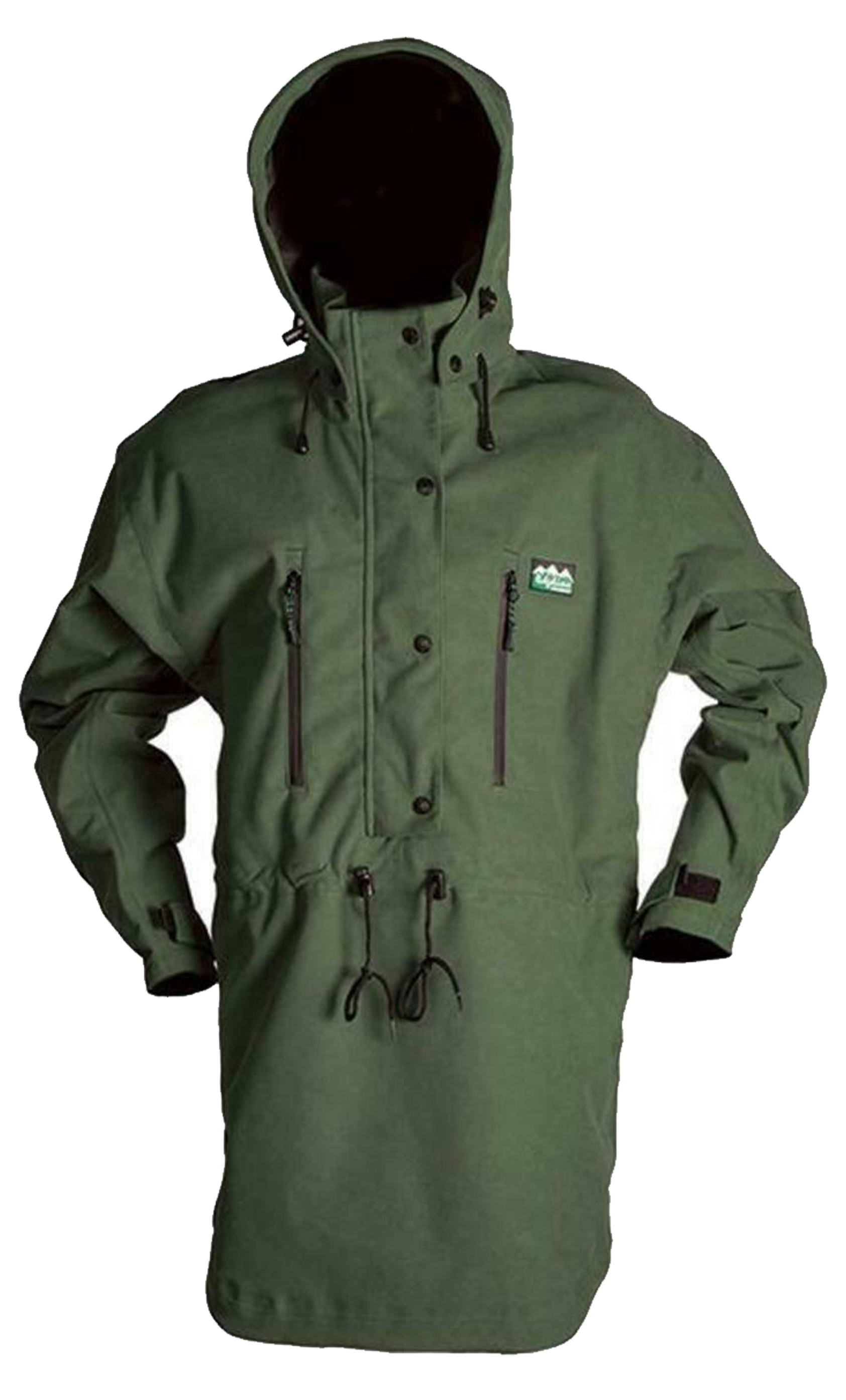 Ridgeline Monsoon Classic Smock Jacket Olive 2