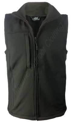 Regatta Softshell Gilet Black